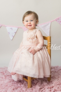 first birthday portrait, happy birthday, photography by Sarah Hart, Kent, Sussex,