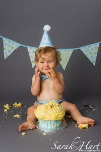 Celebrate your childs first birthday, Cake smash sessions for children aged 1, Sarah Hart Photography, Tonbridge Kent