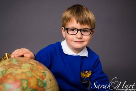 School uniform portrait, Sarah Hart Photography, Woodlands Infants school, Tonbridge Kent