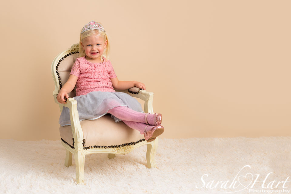 princess photos for girl aged 3, kent family photographer