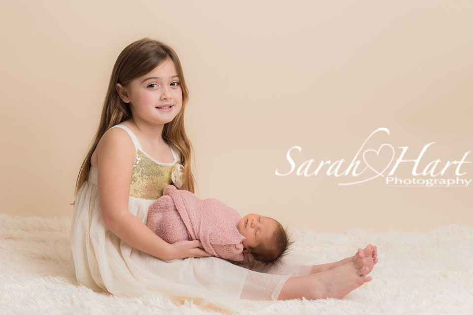 Photos of sister, baby pictures, beautiful keepsake images, studio in Kent