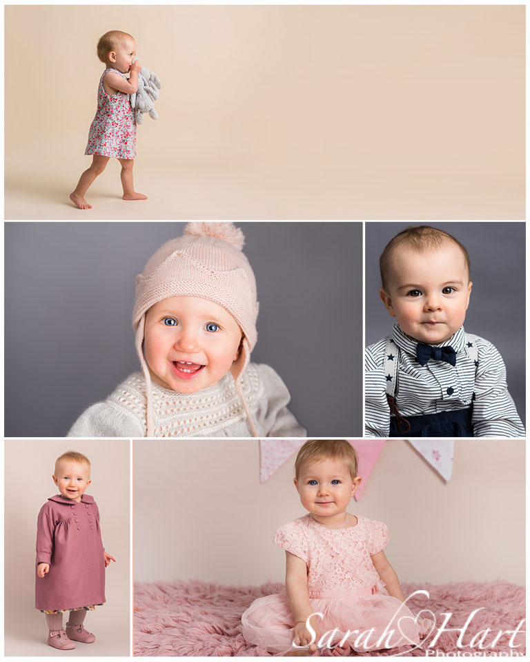 First birthday portraits, cute 1 year outfits, Sevenoaks photographer, Sarah Hart images