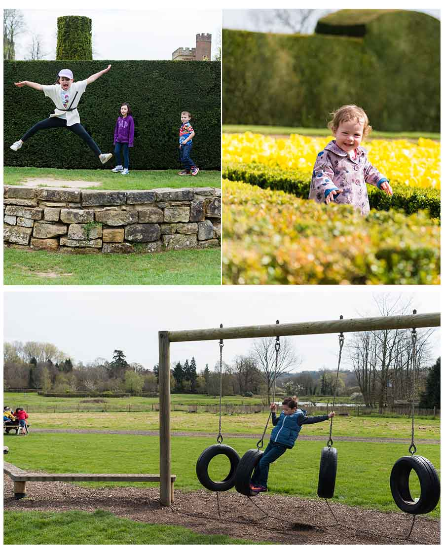 Fun days out in Kent, Penshurst Place, adventure playground & gardens