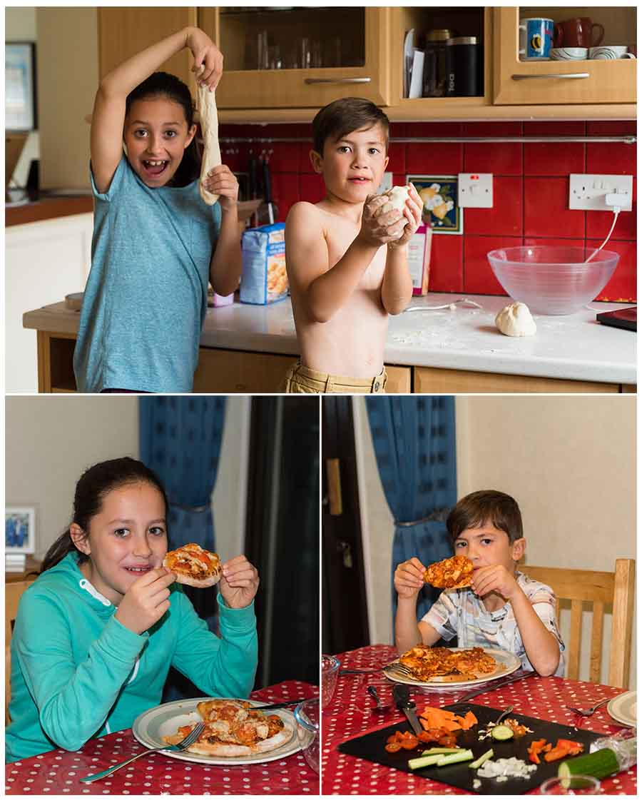 make your own pizza, healthy eating, Tonbridge photographer, Sarah Hart Blog