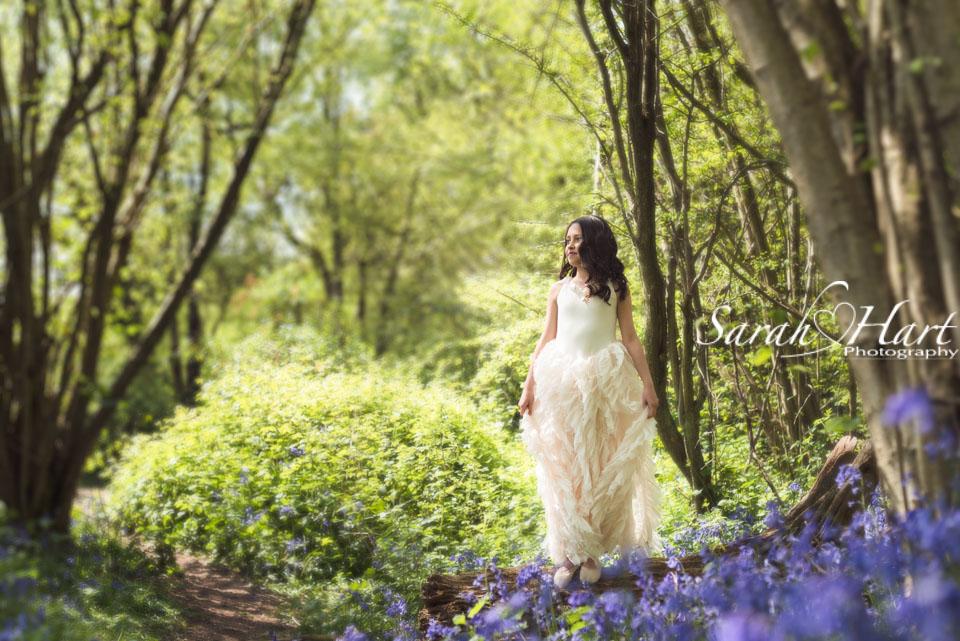 chlldren & bluebells, photoshoot in Sevenoaks, Kent, Sarah Hart Photography