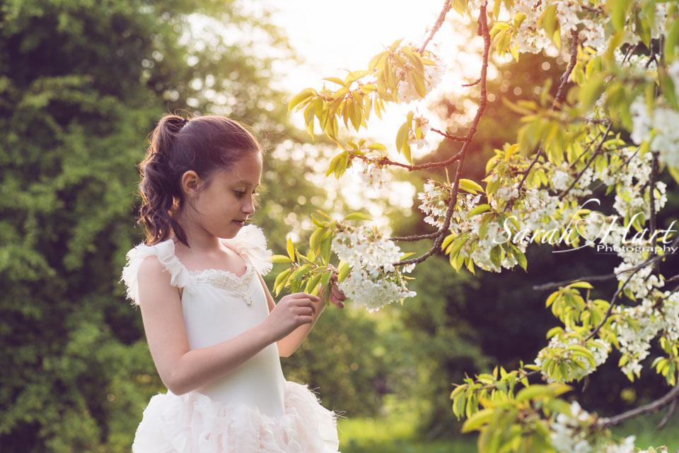 Blossom photoshoot kent, West Malling,