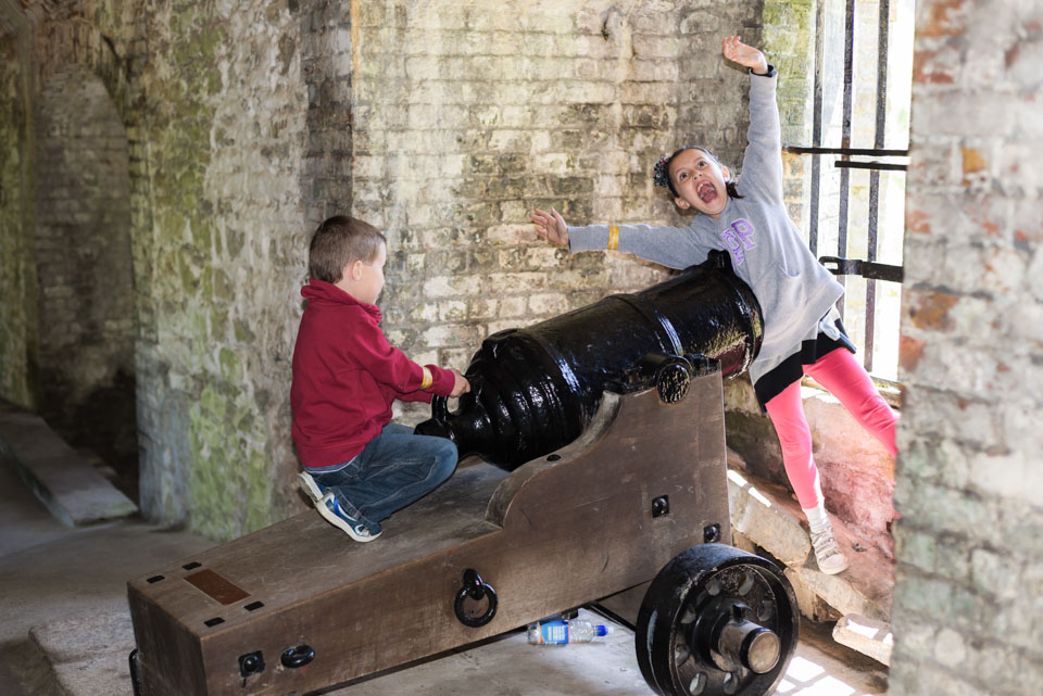 Dover Castle - great days out - family photographer Kent