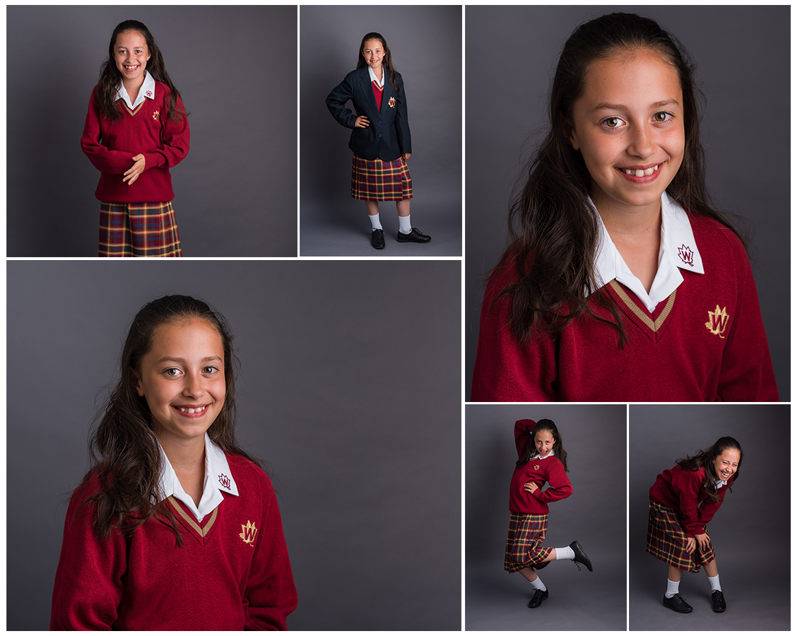 starting secondary school, school portraits by Sarah Hart Photography, Tonbridge studio