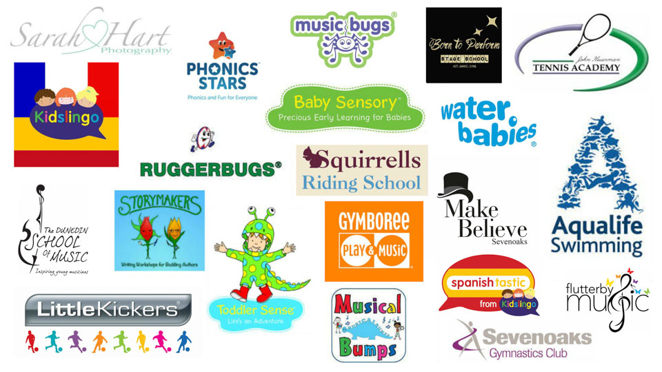 Businesses available through Gift Time Kids, Kent