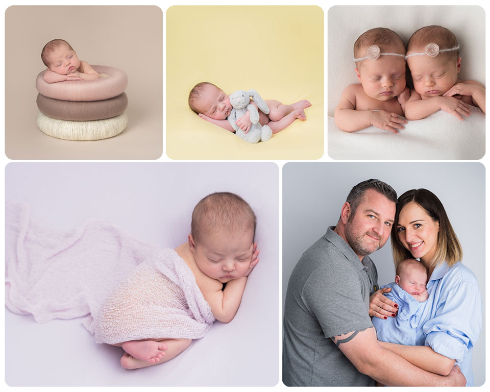 Newborn colour images - Sarah Hart Photography through Gift Time for KIds