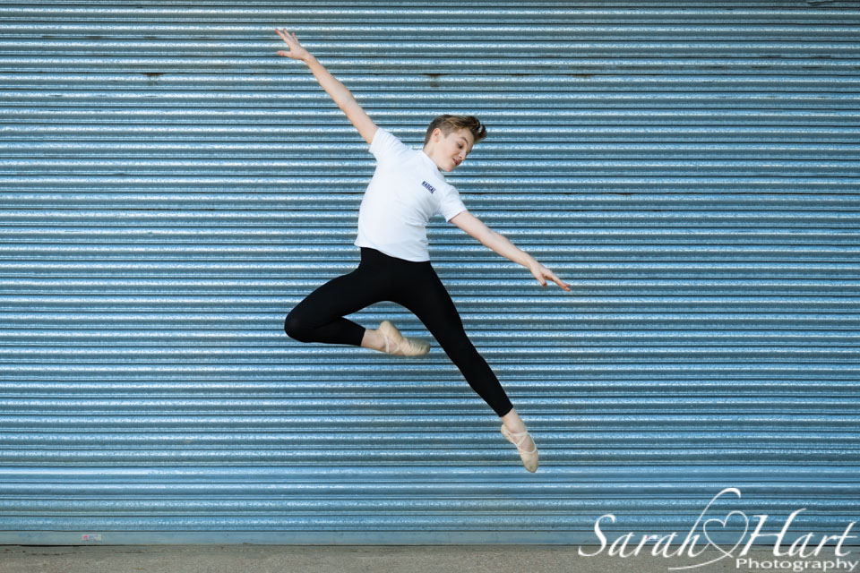 ballet boy, leap of faith, tonbridge park, dance photography shoot