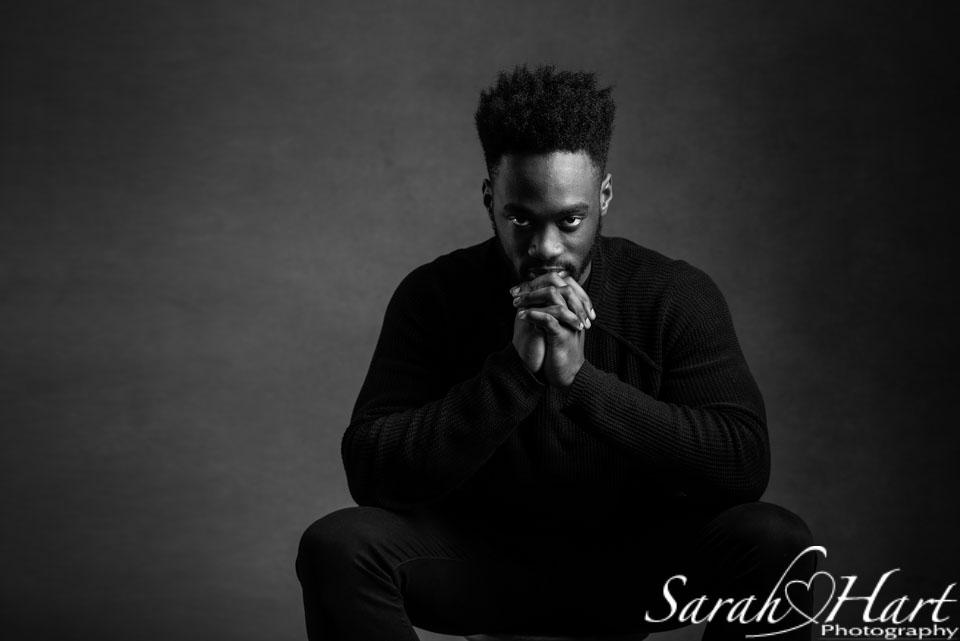 black and white photography, male portrait, mens headshot,. sevenoaks photographer