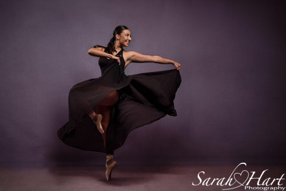 dance photoshoot dancer en pointe tonbridge dance photographer