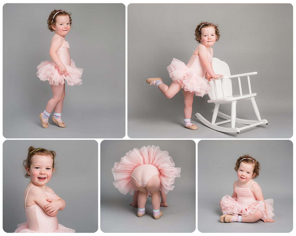Baby ballet shoots for younger children. Beautiful ballet portraits, Kent