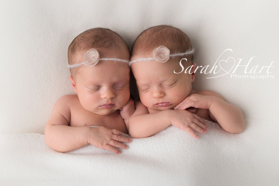Blankets shots of twins, baby images, 3 week old twins, Sarah Hart, studio in Tonbridge, kent