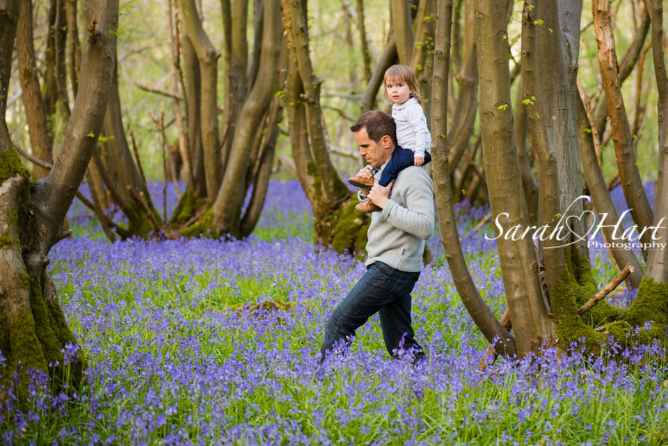 Bluebell walks, photography by Sarah Hart, Hildenborough, Sevenoaks, Tunbridge Wells photographer