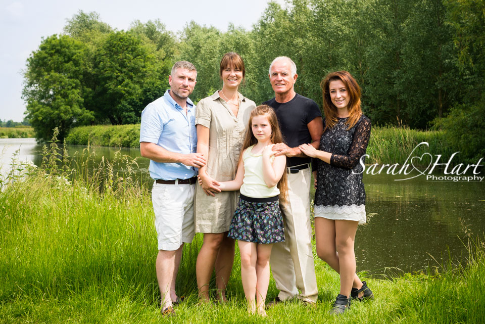 River view with family, Kent photographer, Tonbridge, Kent