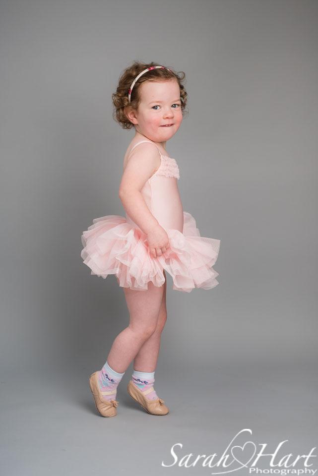 baby ballet photography, tonbridge studio