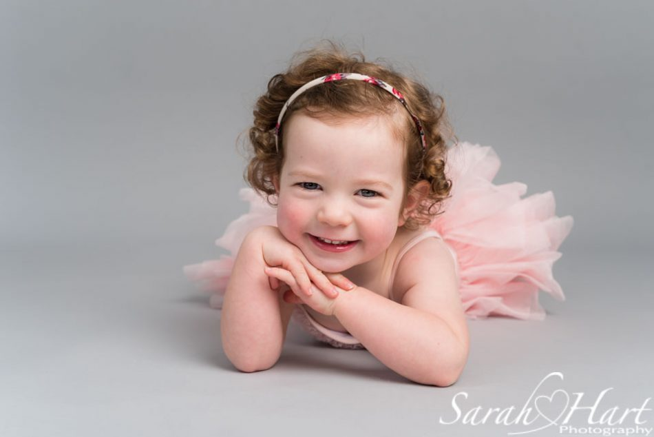 baby ballerina in tutu, tonbridge photographer