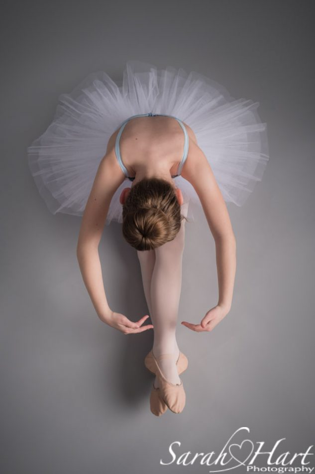 ballerina stretching, paddock wood dance photography