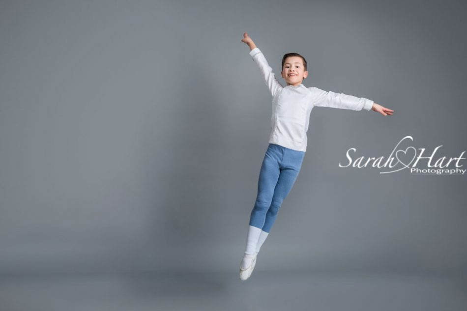 leaping in the air, boys do ballet, dance photography tonbridge