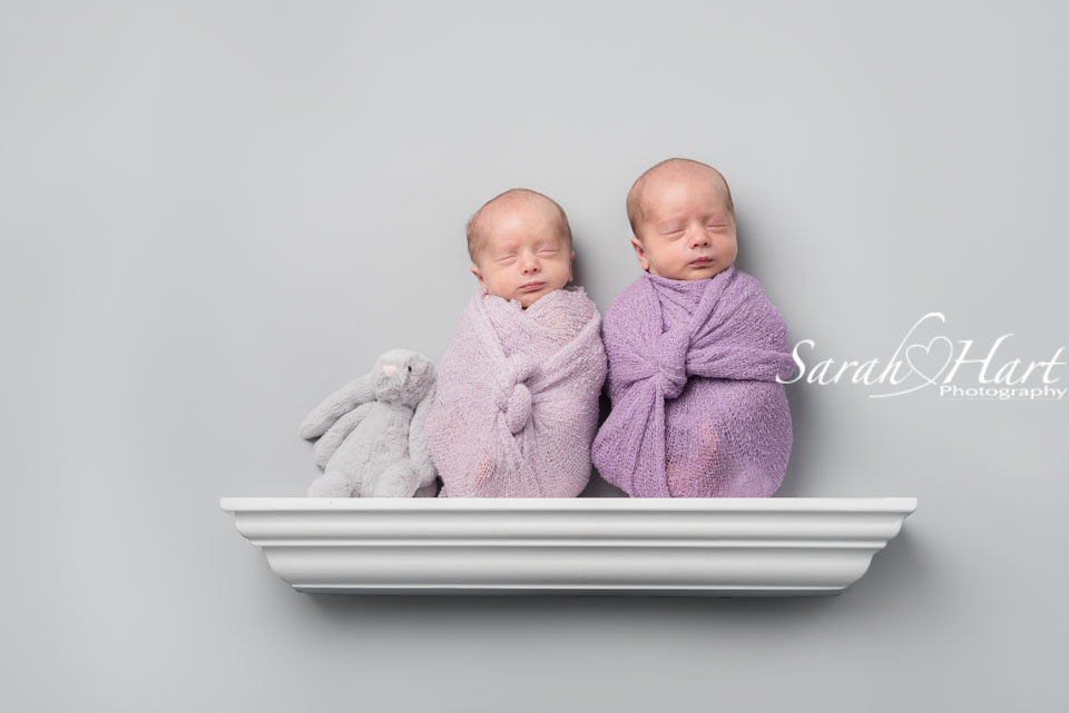 Twin newborn photography, Hildenborough baby photographer