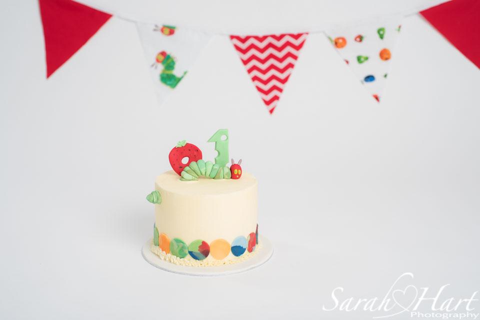hungry caterpillar cake, hildenborough cake smash photographer