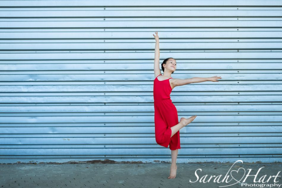 young dancer, location dance photo shoot in east sussex