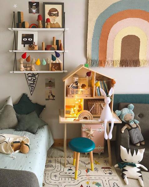 colourful nursery ideas, newborn photographer, Sarah Hart