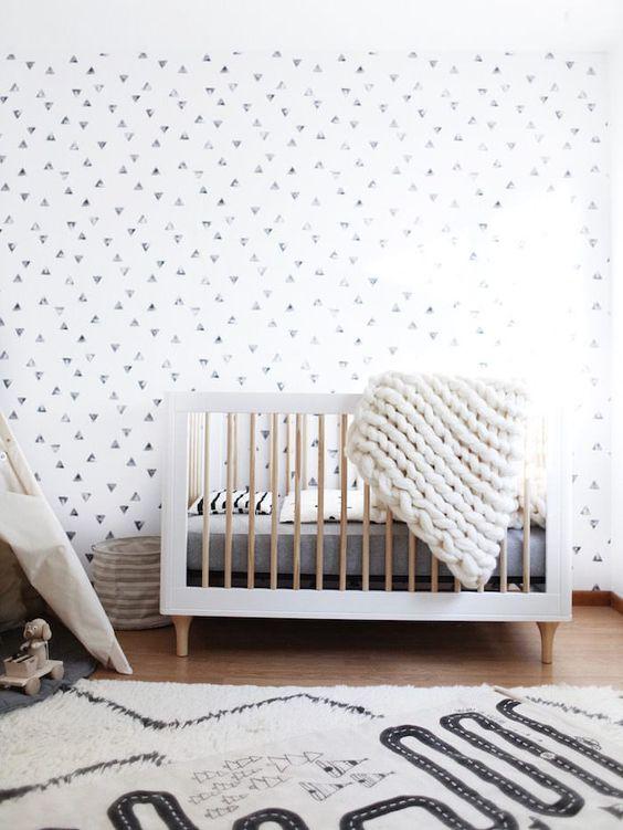 monochrome nursery, Mama & Max nursery ideas