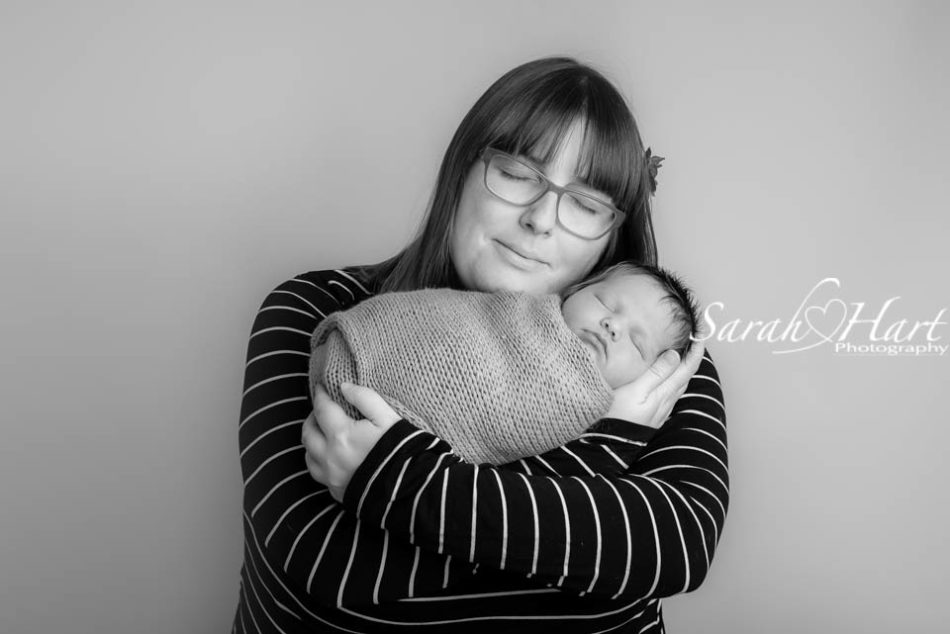 mummy and newborn baby, precious moment, kent baby photographer