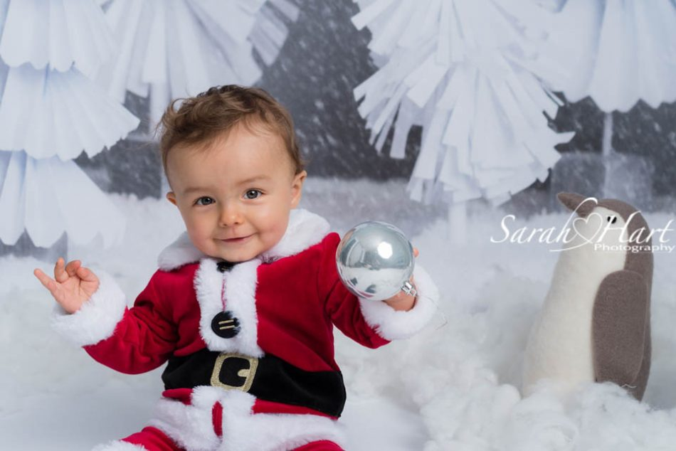 Father Christmas baby, Tunbridge Wells family photographer