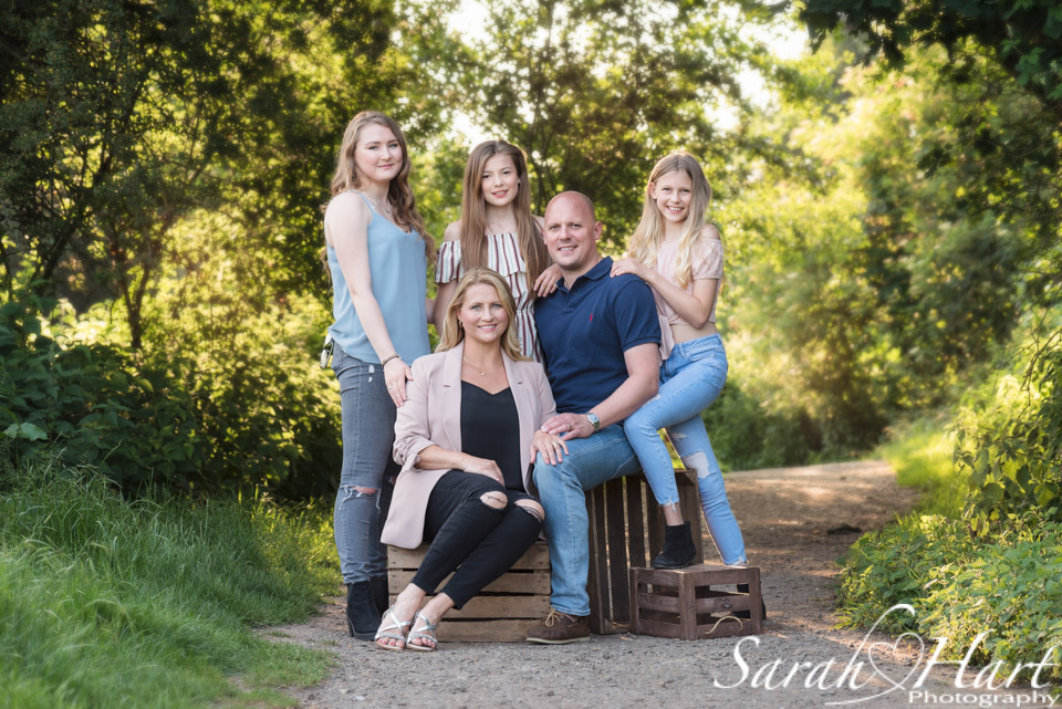 Family photography group shot, Tonbridge family photographer