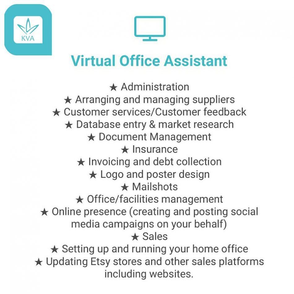 Kent Virtual Assistant offering different admin tasks