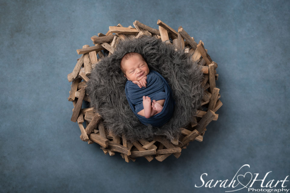 newborn wrapped up, newborn photography session tonbridge