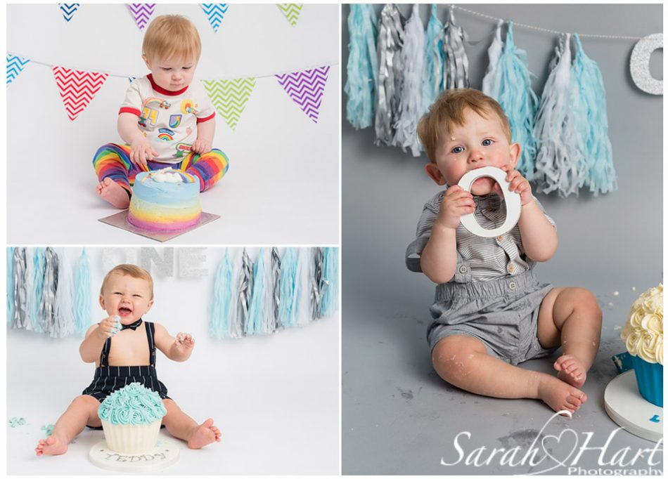 different boys cake smash outfits, Tonbridge photographer