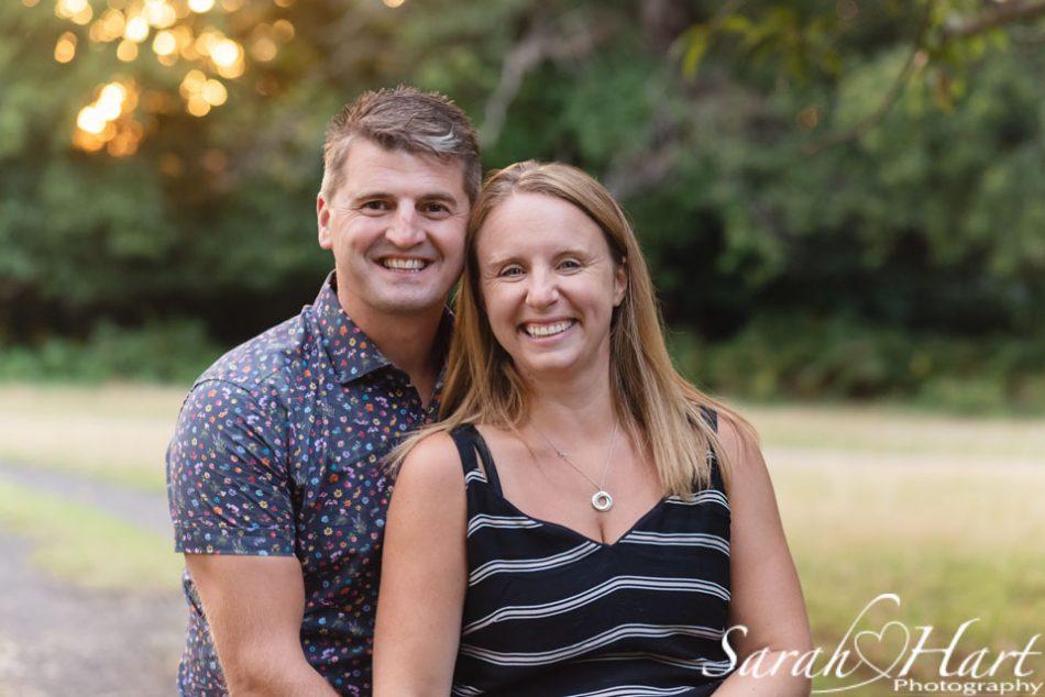 Mum & dad at kent family photography session, Sevenoaks