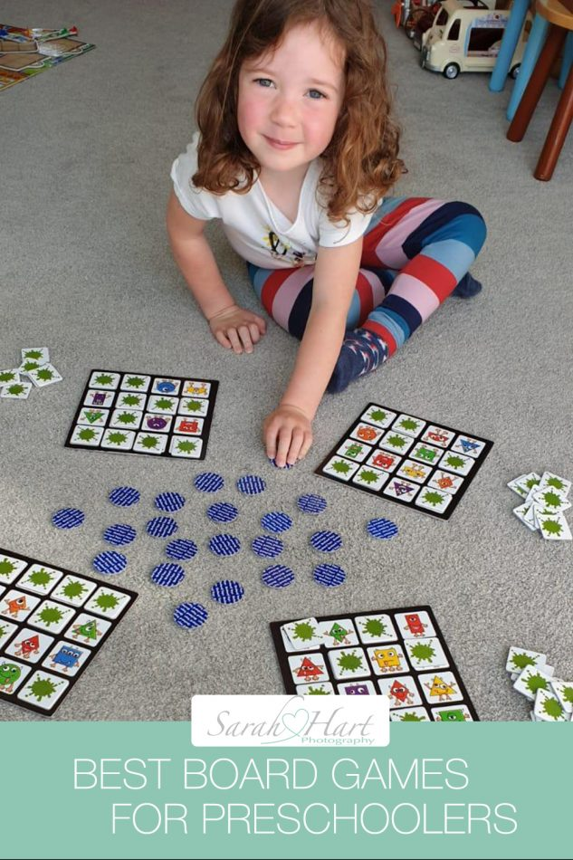 Board Games for preschoolers - a blog about the best games