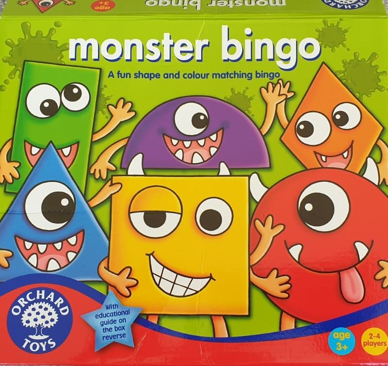 The game Monster Bingo which is suitable for younger family members