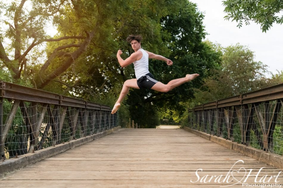male dancer on a bridge, kent dance photographer