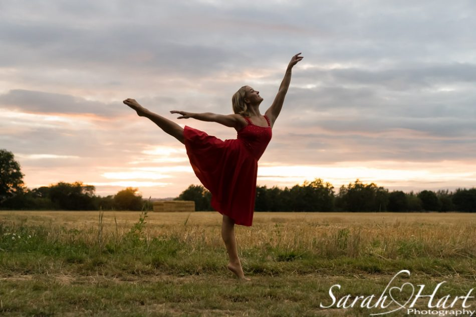 dancing in the sunset, dance photography kent