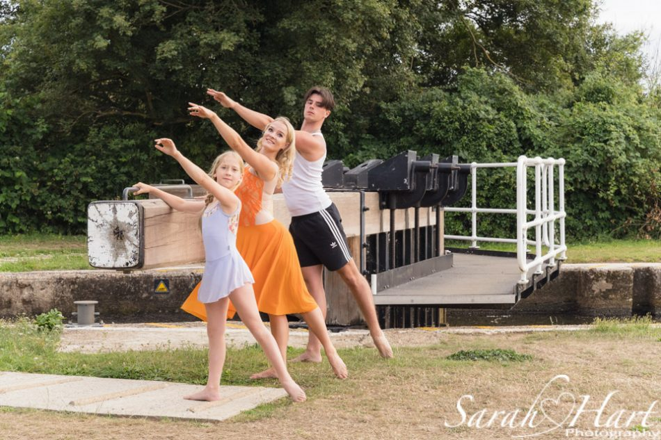 ballet lesson at the lock