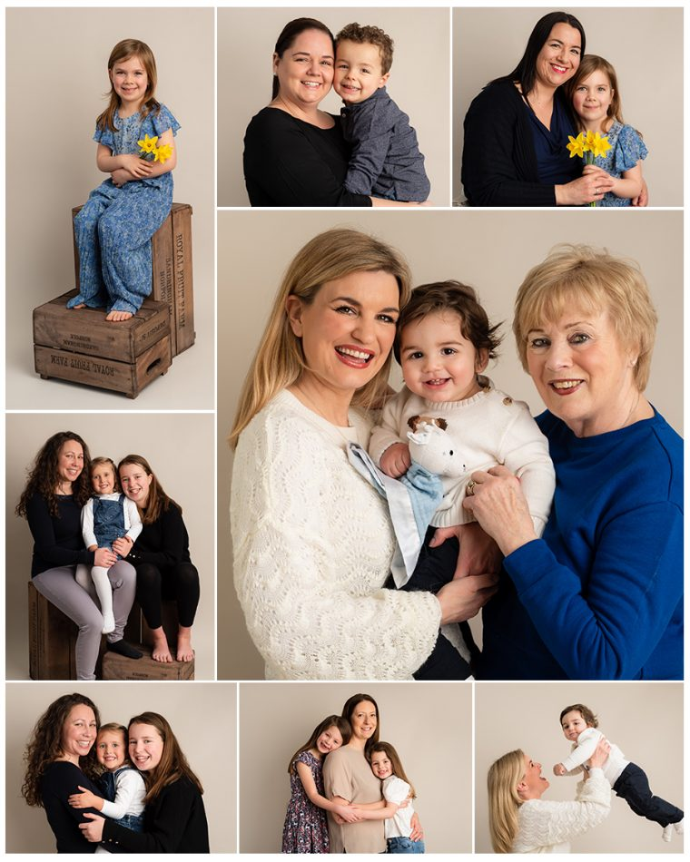 Mummy & Me Images in a montage