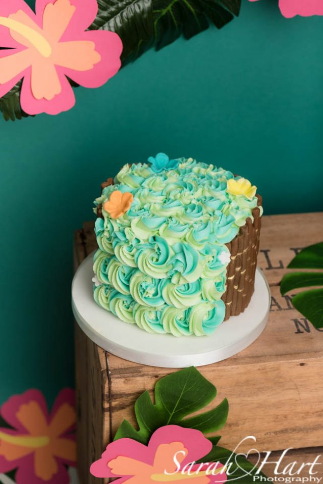 Moana cake at a Tunbridge Wells cake smash