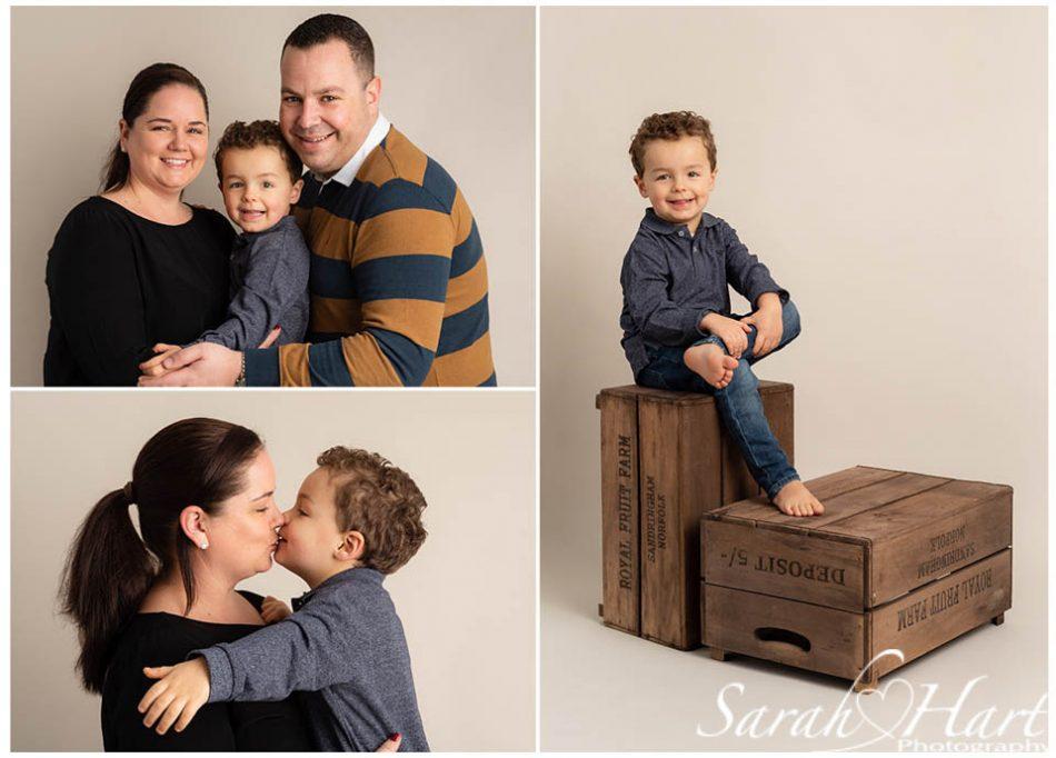 a family portrait studio taken by in studio by tunbridge wells photographer