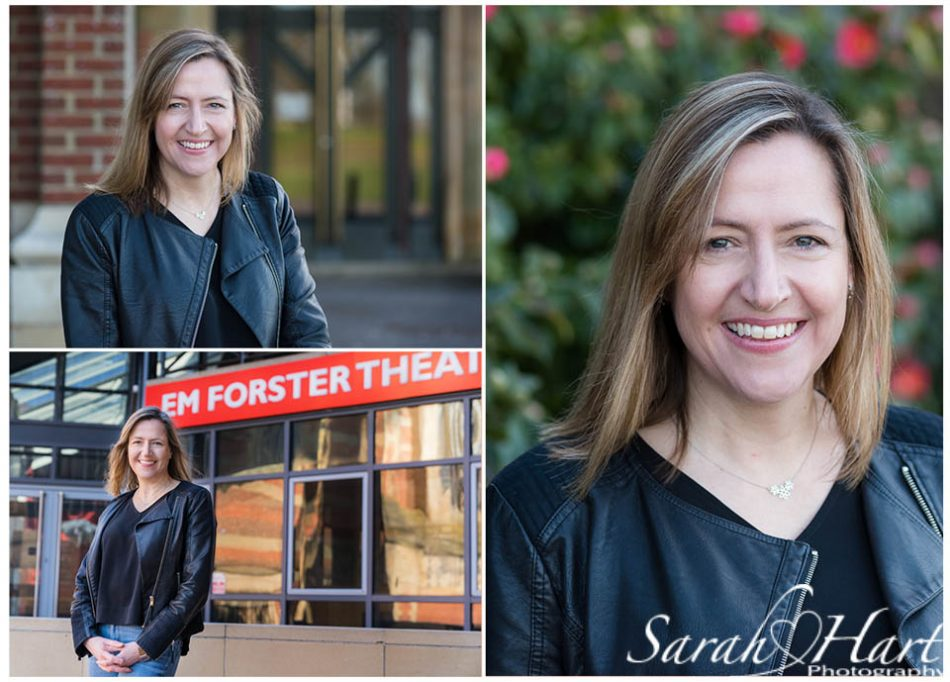 Headshots taken for local business, EM Forster Theatre, Tonbridge