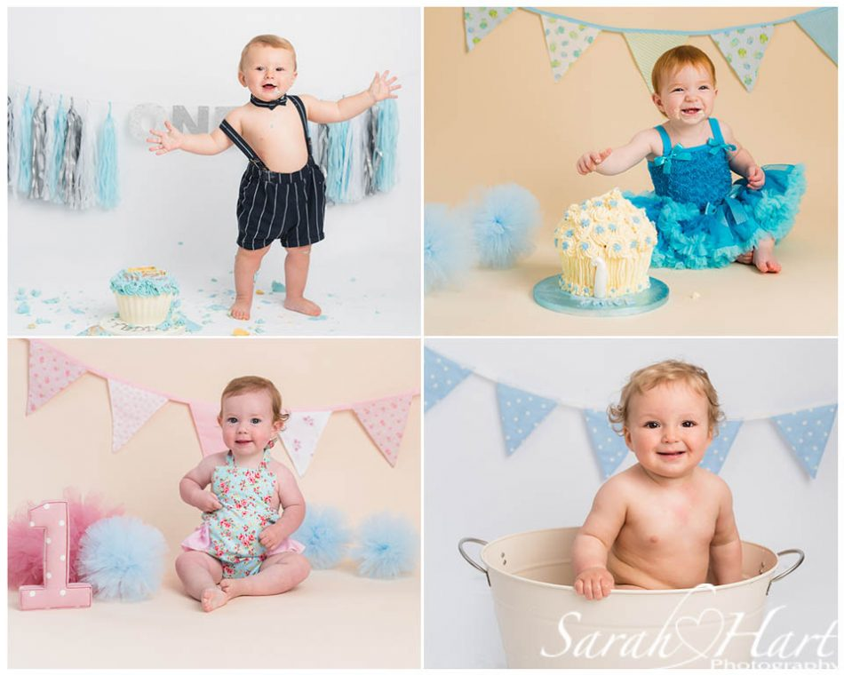 using blues at different baby photoshoots